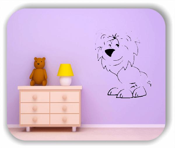 Wandtattoo - Löwe