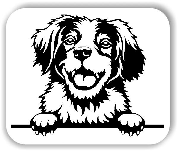 Wandtattoo - Hunde - Brittany Spaniel - ohne Rassename
