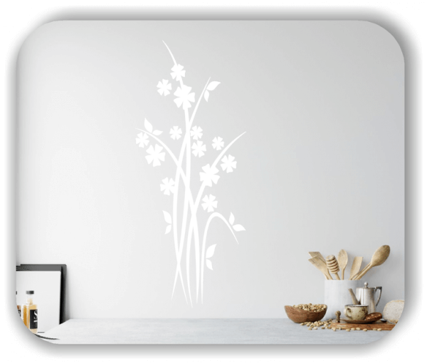 Wandtattoo - Japan Floral - ab 25x60 cm - Motiv 3247