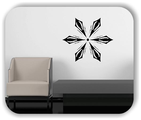 Wandtattoo - Snowflakes - ab 50x43 cm - Motiv 2580
