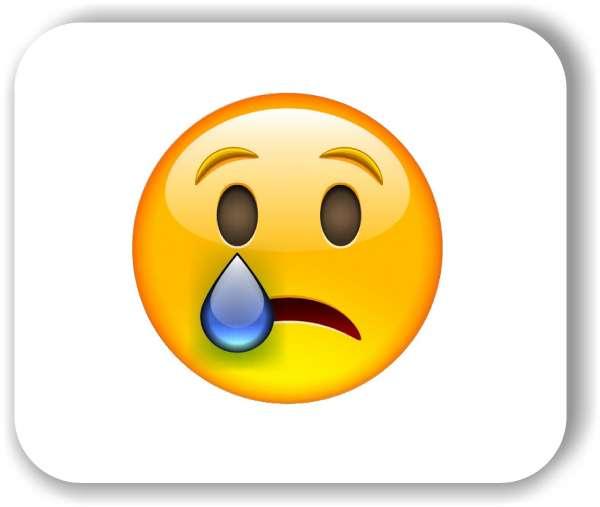 Strichgesicht - Weinendes Gesicht