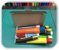 Folien Reste - 2 qm - Diverse Farben - Selbstklebefolien