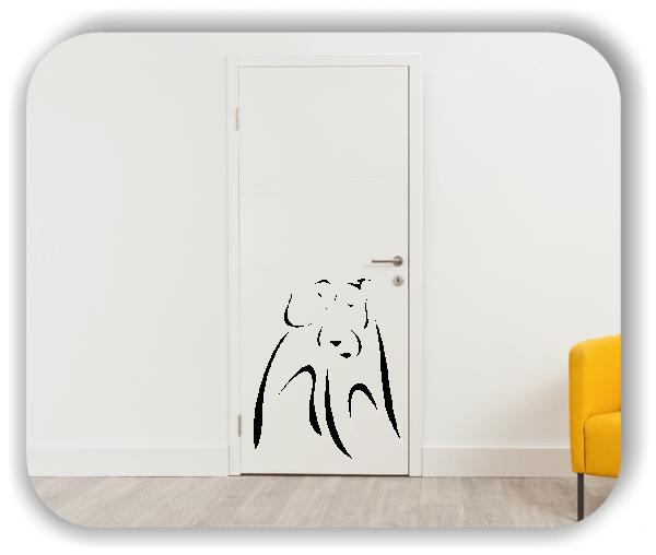 Wandtattoo - Tier Silhouette - ab 50x60 cm - Irish Terrier