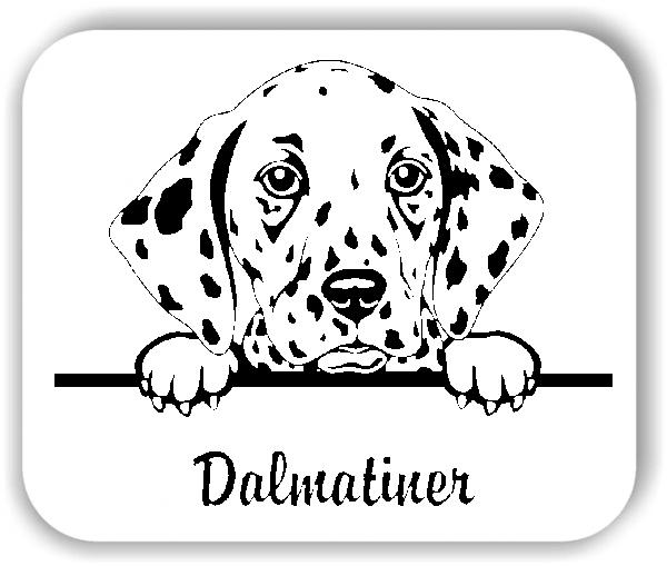 Wandtattoo - Hunde - Dalmatiner