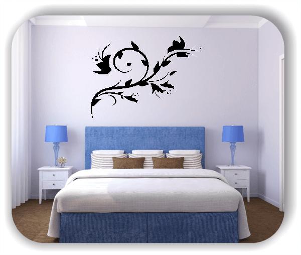 Wandtattoo - China Floral - ab 50x40 cm - Motiv 3140