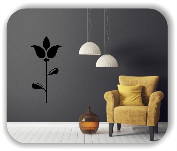 Wandtattoo - Schnittblumen - ab 25x50 cm - Motiv 9019
