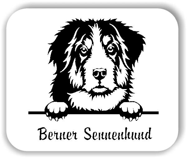 ❤ Wandtattoo - Hunde - Berner Sennenhund