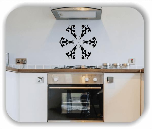 Wandtattoo - Snowflakes - ab 50x47 cm - Motiv 2524