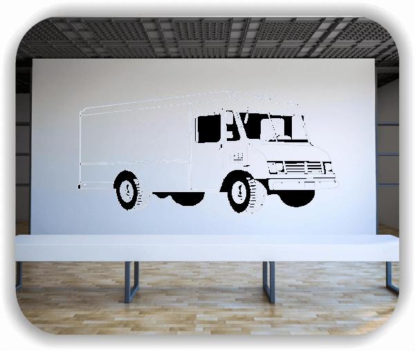 Wandtattoo - ab 50x34 cm - Wohnmobil