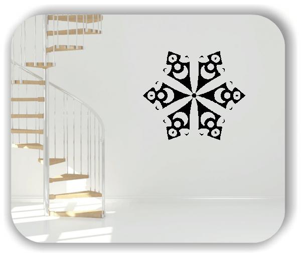Wandtattoo - Snowflakes - ab 50x47 cm - Motiv 2510