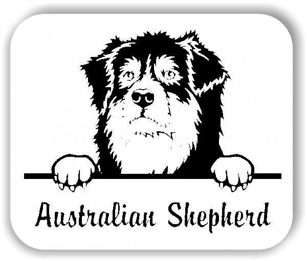 Wandtattoo - Hunde - Australian Shepherd