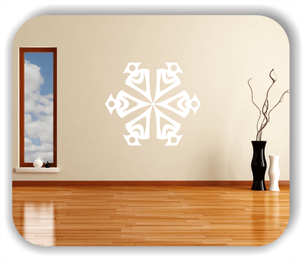 Wandtattoo - Snowflakes - ab 50x43 cm - Motiv 2578