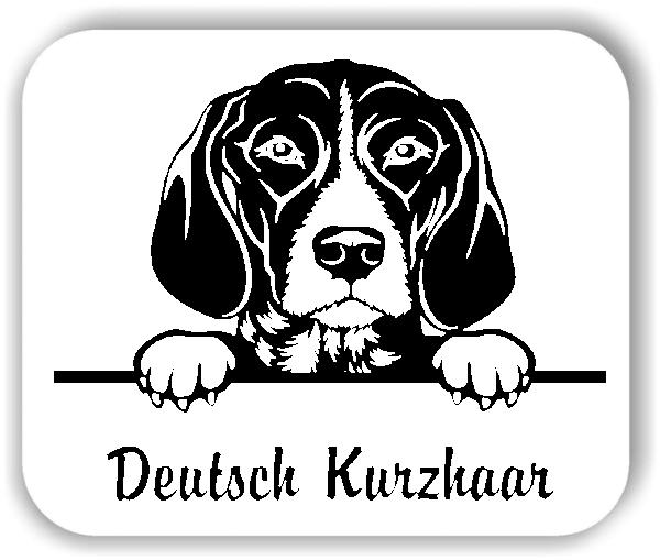 Wandtattoo - Hunde - Deutsch Kurzhaar
