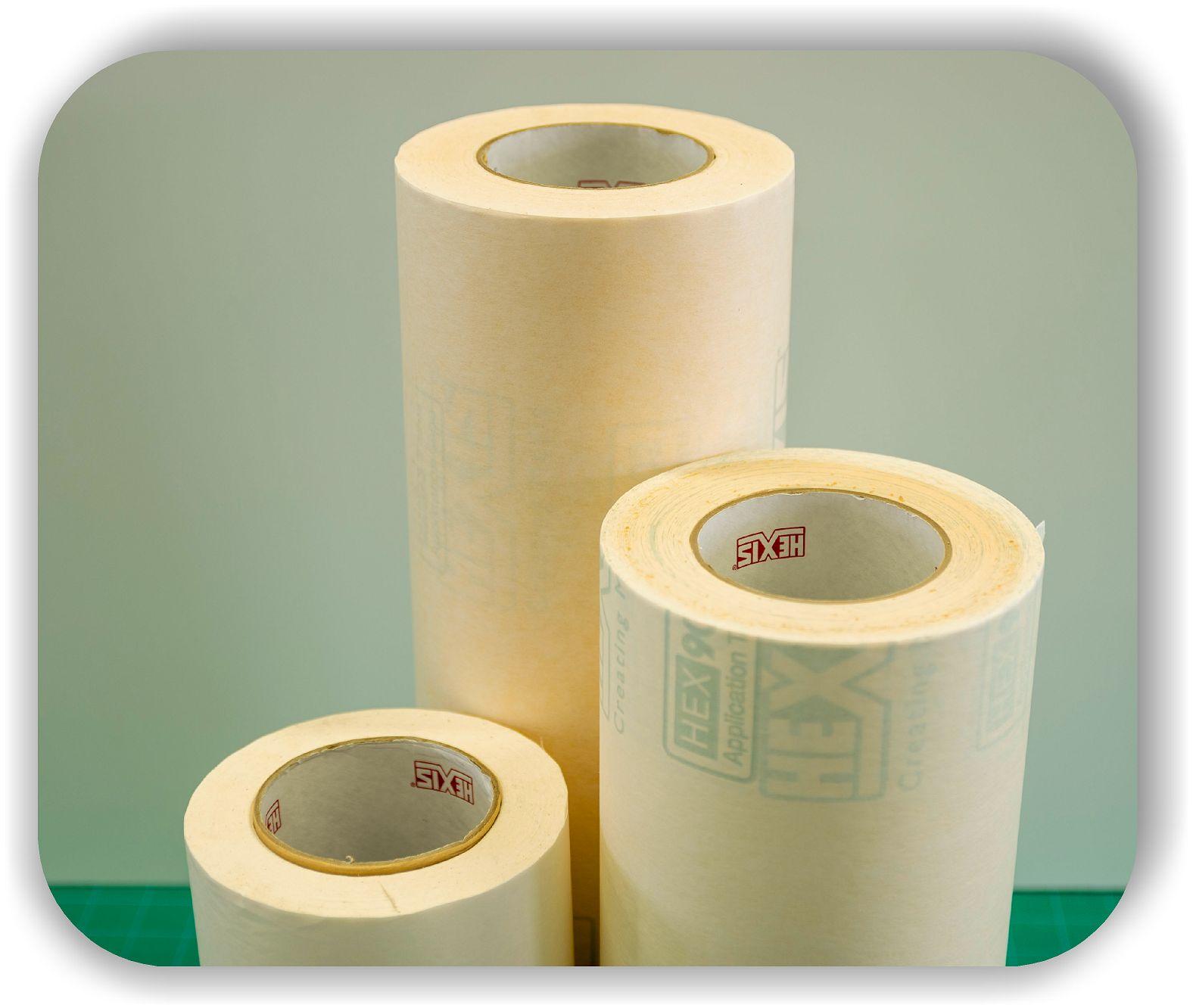 100m Breite Auswahl Übertragungstape Poli Tape Länge Application Tape