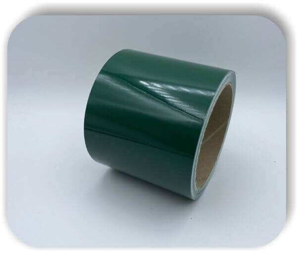 Boots Zierstreifen 100 mm Glanz Tannengrün Dekorstreifen