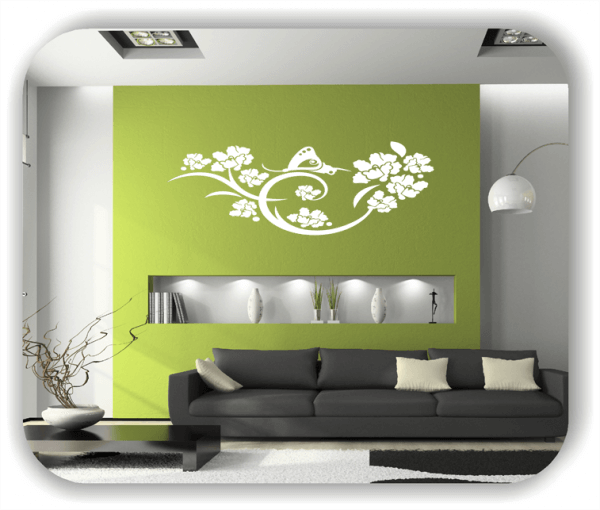 Wandtattoo - China Floral - ab 50x17 cm - Motiv 3100