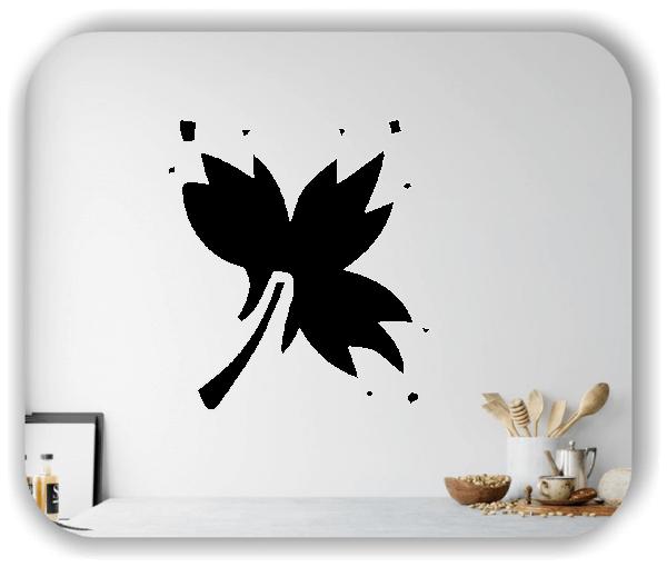 Wandtattoo - ab 50x55cm - Blätter - Motiv 8254