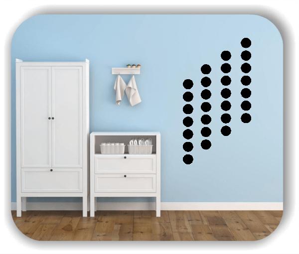 Folien Punkte - Selbstklebend - 35 Punkte a 4 cm