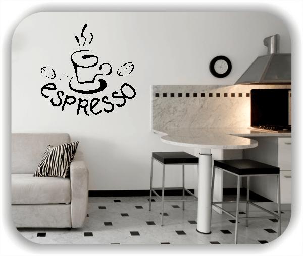 ❤ Wandtattoo ❤ Espresso