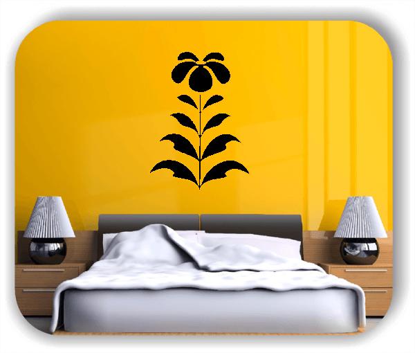 Wandtattoo - Schnittblumen - ab 37x50 cm - Motiv 9042
