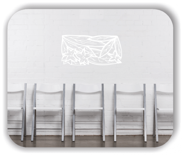 Wandtattoo - Natur Ornamente - ab 50 x 25 cm - Motiv 85