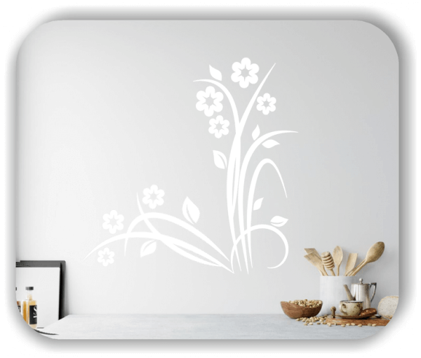 Wandtattoo - Japan Floral - ab 60x60 cm - Motiv 3218