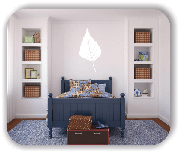 Wandtattoo - ab 50x97,5cm - Blätter - Motiv 8230