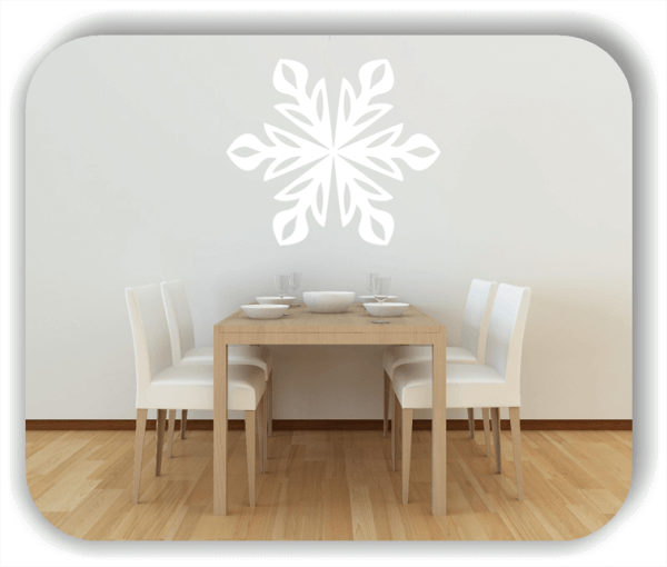 Wandtattoo - Snowflakes - ab 50x43 cm - Motiv 2566