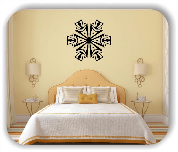 Wandtattoo - Snowflakes - ab 50x48 cm - Motiv 2509