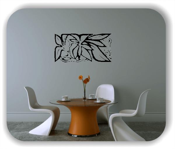 Wandtattoo - Natur Ornamente - ab 50 x 25 cm - Motiv 86