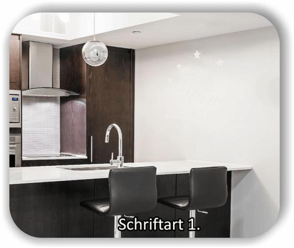 Wandtattoo - Sterne Küche