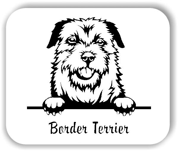 Wandtattoo - Hunde - Border Terrier