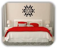 Wandtattoo - Snowflakes - ab 50x48 cm - Motiv 2503