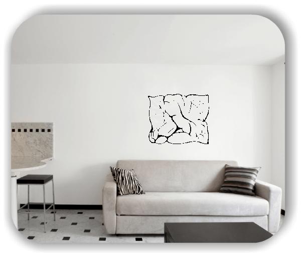 Wandtattoo - Natur Ornamente - ab 60 x 49 cm - Motiv 40
