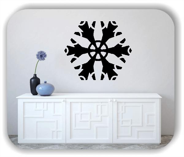 Wandtattoo - Snowflakes - ab 50x43 cm - Motiv 2585