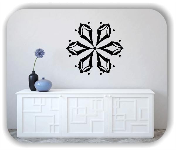 Wandtattoo - Snowflakes - ab 50x47 cm - Motiv 2511