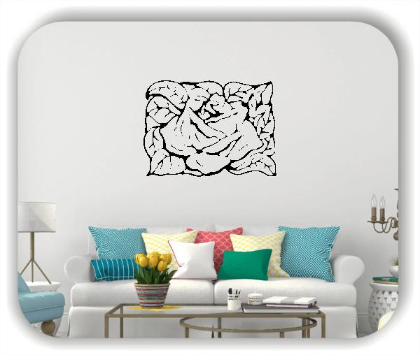 Wandtattoo - Natur Ornamente - ab 60 x 43 cm - Motiv 33