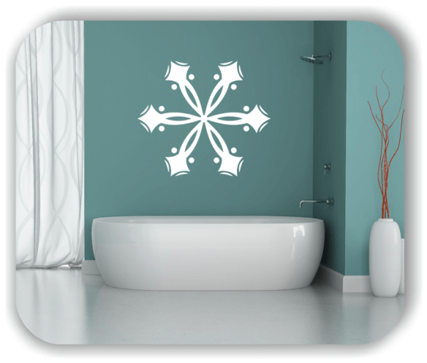 Wandtattoo - Snowflakes - ab 50x43 cm - Motiv 2575