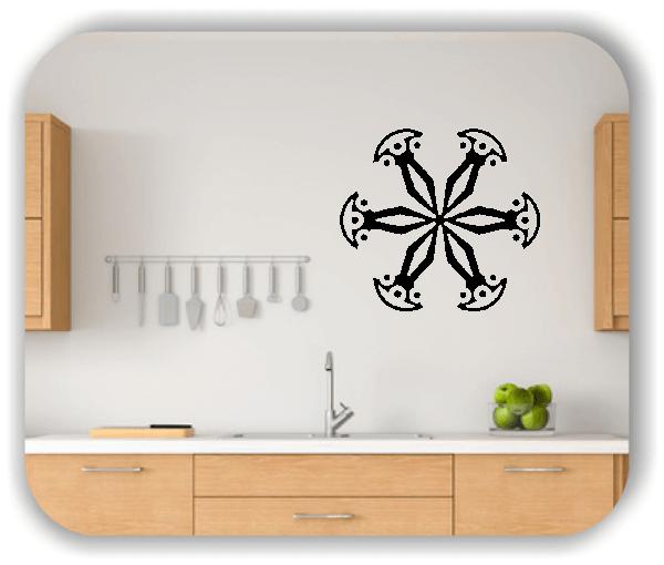 Wandtattoo - Snowflakes - ab 50x47 cm - Motiv 2521