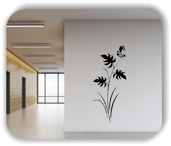 Wandtattoo - Japan Floral - ab 33x60 cm - Motiv 3242