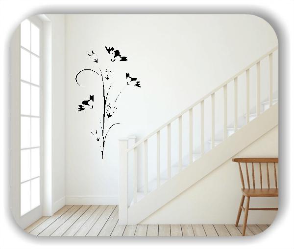 Wandtattoo - Japan Floral - ab 33x60 cm - Motiv 3234