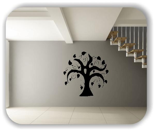 Wandtattoo - ab 50x50cm - Baum - Motiv 8226