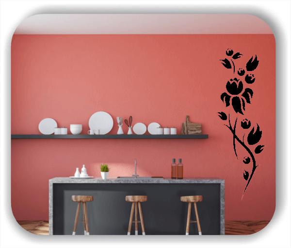 Wandtattoo - China Floral - ab 50x150 cm - Motiv 3195