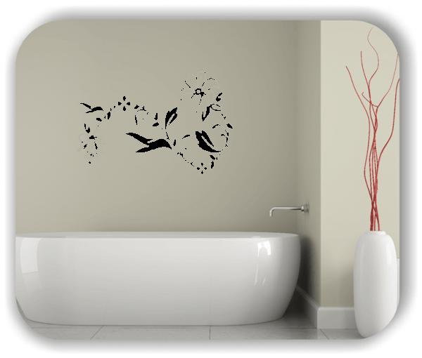 Wandtattoo - Florale Blumen & Pflanzen - ab 50x32,5 cm - Motiv 3025