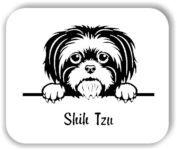 Wandtattoo - Hunde - Shih Tzu
