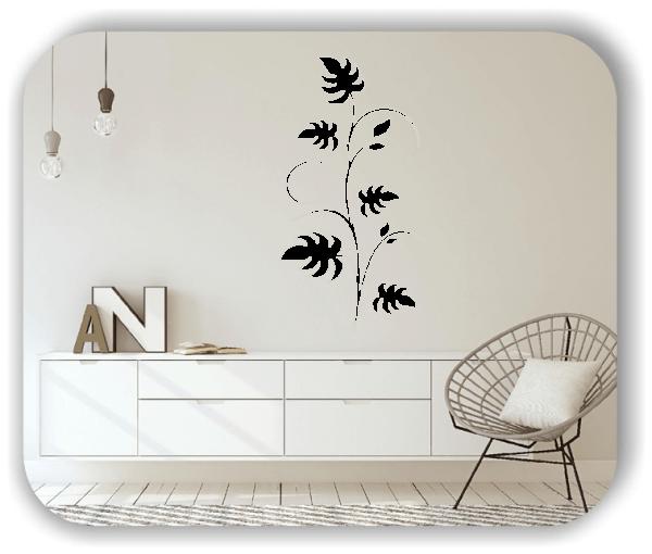 Wandtattoo - Japan Floral - ab 33x60 cm - Motiv 3236