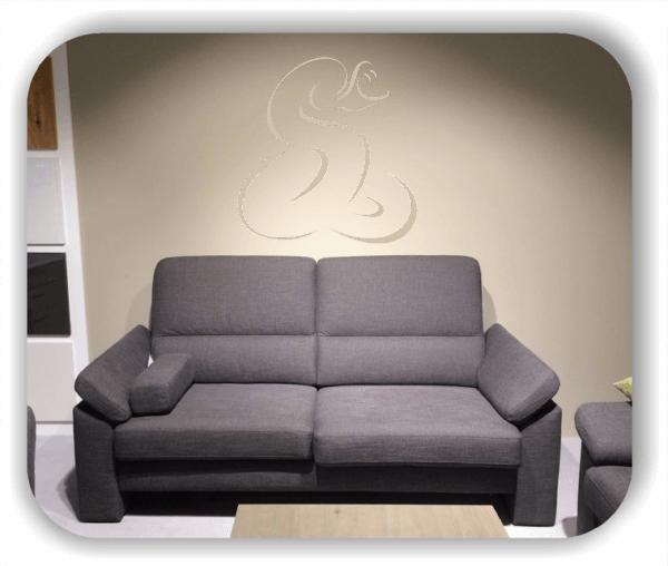 Wandtattoo - Tier Silhouette - ab 50x51 cm - Schlange