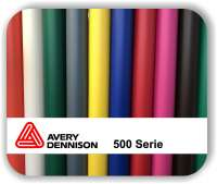Selbstklebefolie - Avery 500 - Matt - 123 cm Rollenbreite