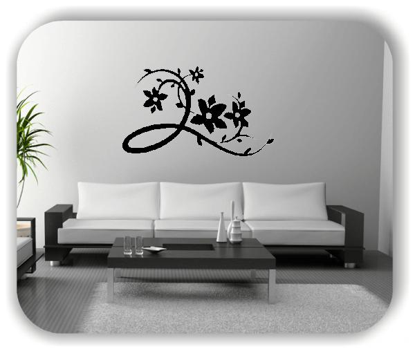 Wandtattoo - China Floral - ab 50x30 cm - Motiv 3122