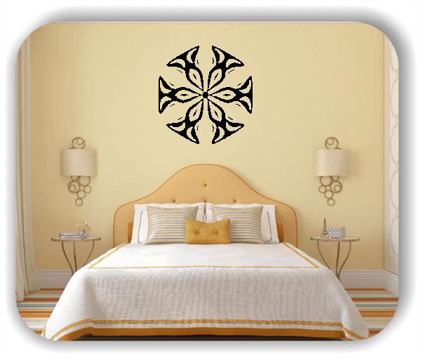 Wandtattoo - Snowflakes - ab 50x48 cm - Motiv 2507